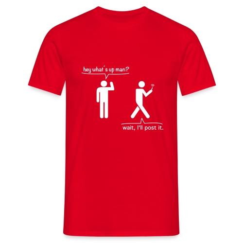 smartphoneguy - Männer T-Shirt