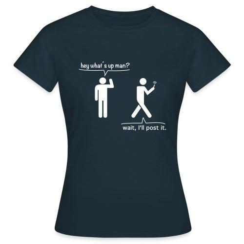 smartphoneguy - Frauen T-Shirt