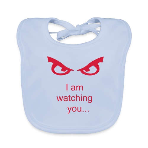 I'm watching you, - Baby Organic Bib