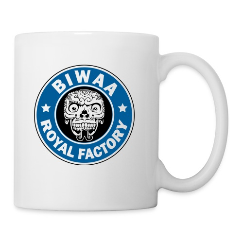 BIWAA ROYAL FACTORY Mug - Mug blanc
