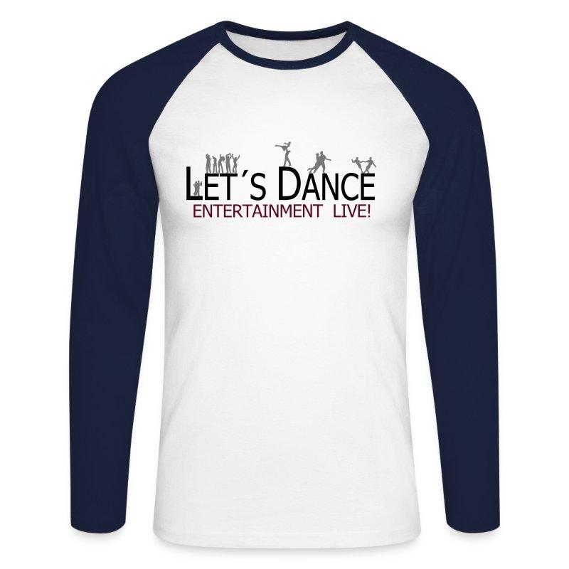 lets_dance_logo_neu - Männer Baseballshirt langarm