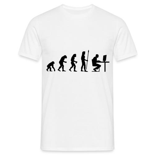 T-Shirt - L'évolution humaine - T-shirt Homme