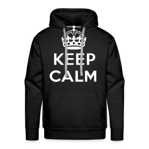 keep calm - Mannen Premium hoodie
