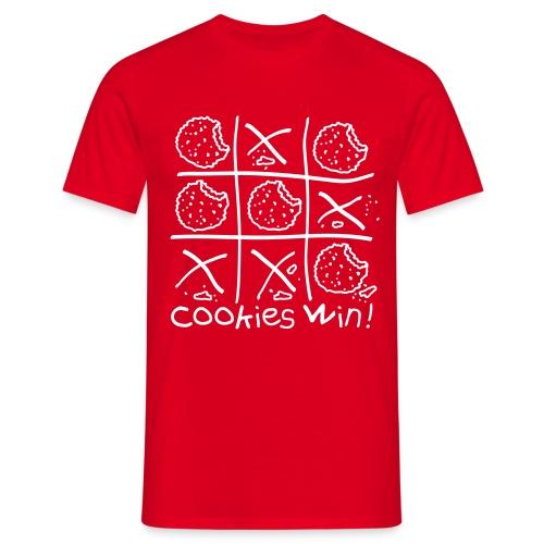 Cookies Win Tshirt Red - Men's T-Shirt