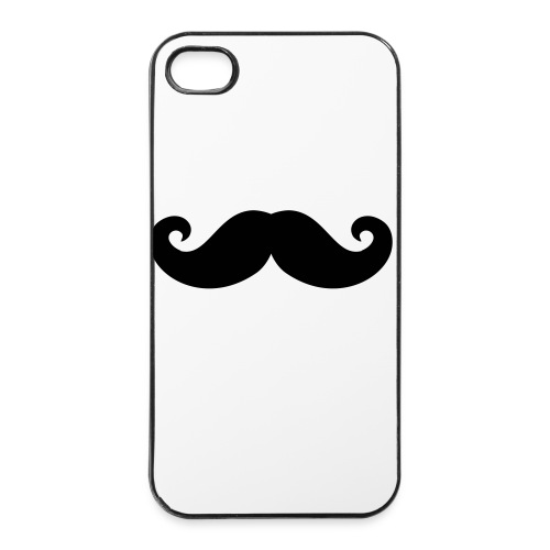 iPhone hoesje Moustache - iPhone 4/4s hard case