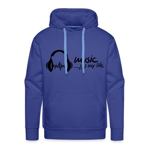 MANNEN SWEATER MET CAPUCHON  - Mannen Premium hoodie