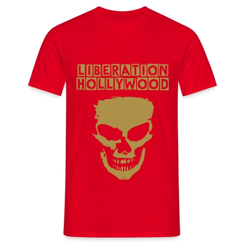Gold Skull Mens - Men's T-Shirt