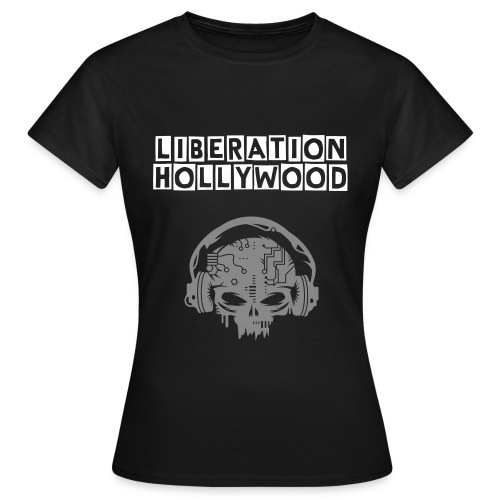 Silver Skull Ladies - Women's T-Shirt