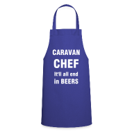 Aprons ~ Cooking Apron ~ Caravan Chef - It'll end in beers