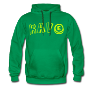 Hoodies & Sweatshirts ~ Men's Premium Hoodie ~ Rave with ecstasy