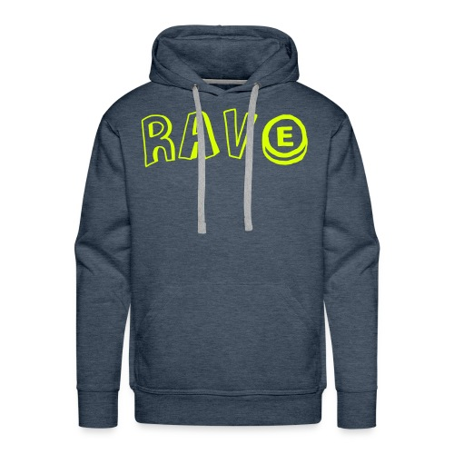 Rave with ecstasy - Men's Premium Hoodie