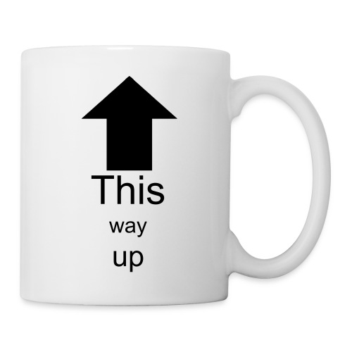 This way up - Mug