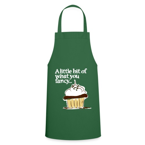 A little bit of what you fancy... Cupcake Apron (green) - Cooking Apron
