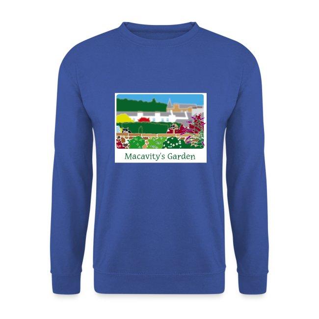 Macavity's Garden - Sweatshirt (royal blue)