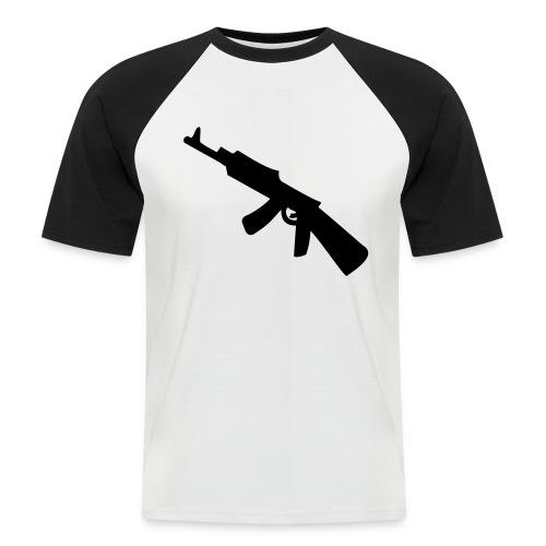 tee-shirt gangster - T-shirt baseball manches courtes Homme