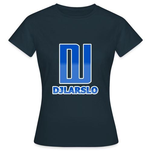 Vrouwen T-shirt - DJLarslo Logo Vrouwen