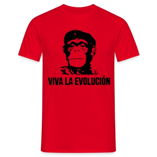 Viva la evolution  - T-shirt Homme
