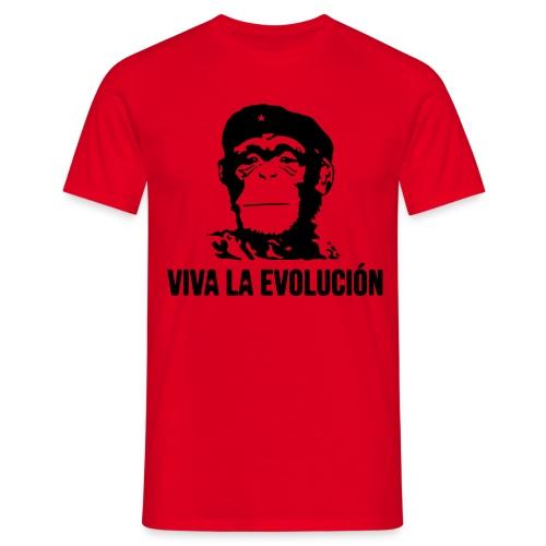 Viva la evolution  - T-shirt Homme