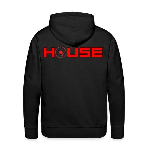 sweater house - Mannen Premium hoodie