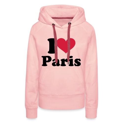 Vrouwensweater met cappuchon - Vrouwen Premium hoodie