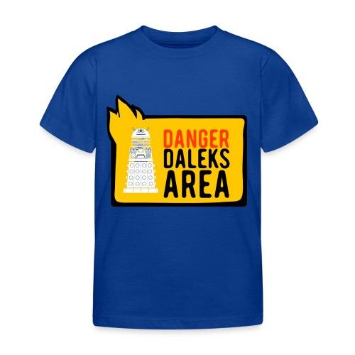 Danger Who - Kinder T-Shirt