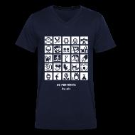 Tee shirts ~ Tee shirt Homme col V ~ T-shirt-jeu BD/Animation