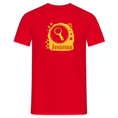 Sternzeichen Jungfrau - Männer T-Shirt