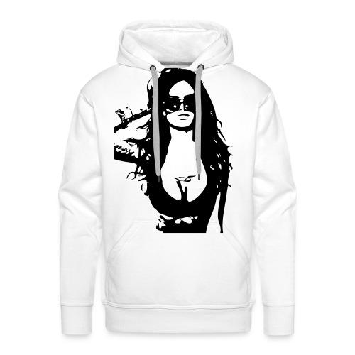 Sexy Girl sweater - Mannen Premium hoodie