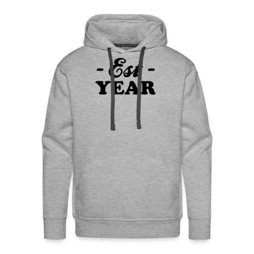 Birthday - Birthday - your year customization - Men's Premium Hoodie