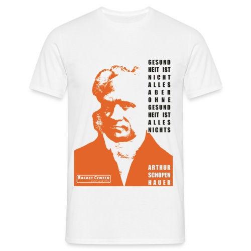 Schopenhauer - Männer T-Shirt