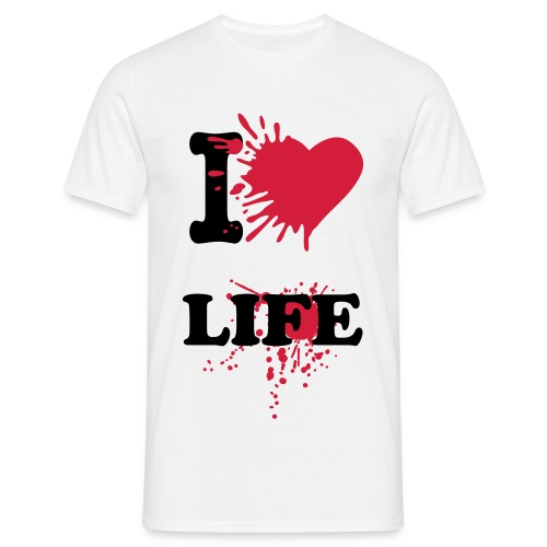 I LOVE LIFE - T-shirt Homme