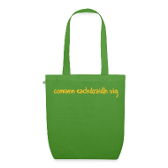 Bags & Backpacks ~ EarthPositive Tote Bag ~ Comann Eachdraidh Organic Bag - Green