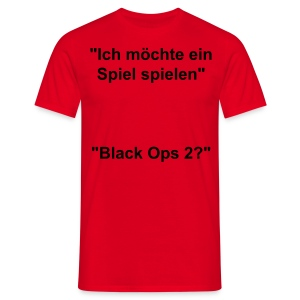 Saw cross Blackops2 - Männer T-Shirt