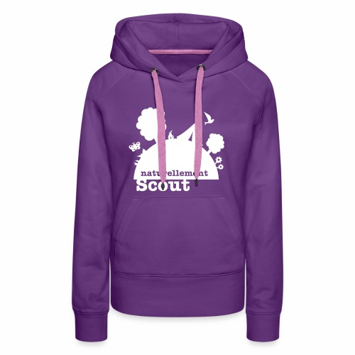 Naturellement Scout - Sweat-shirt à capuche Premium pour femmes
