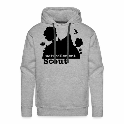 Naturellement Scout - Sweat-shirt à capuche Premium pour hommes