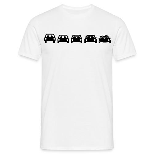 Track Car Evolution Shirt - Männer T-Shirt