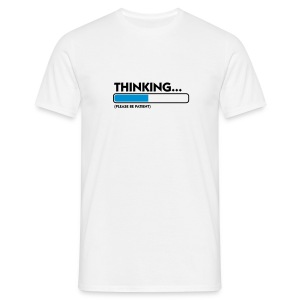 thinking - T-shirt Homme