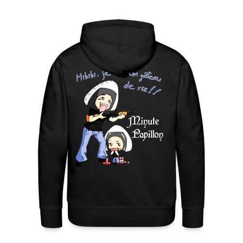 Mini-Kriss - Gateau de riz - Sweat Capuche - Sweat-shirt à capuche Premium pour hommes