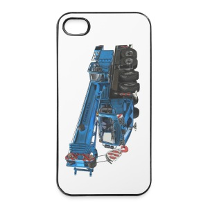 Mobile Crane 4-axle - Blue - iPhone 4/4s Hard Case