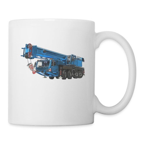 Mobile Crane 4-axle - Blue - Mug