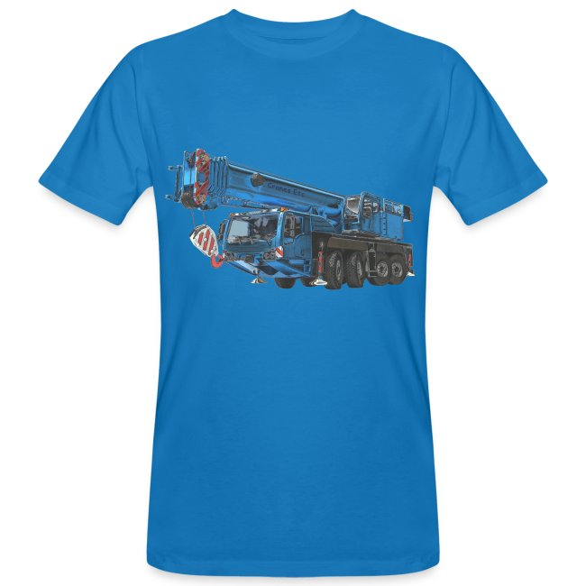 Mobile Crane 4-axle - Blue