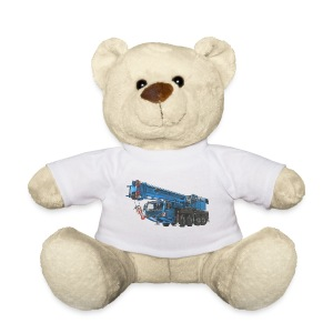 Mobile Crane 4-axle - Blue - Teddy Bear
