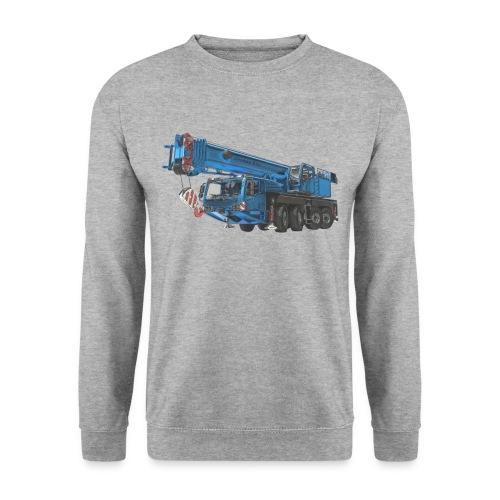 Mobile Crane 4-axle - Blue - Men's Sweatshirt