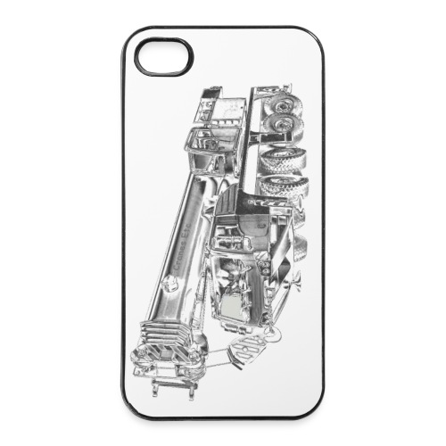 Mobile Crane 4-axle - iPhone 4/4s Hard Case