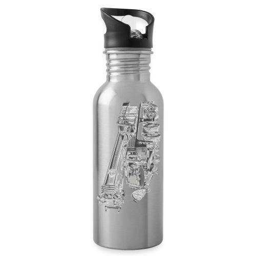 Mobile Crane 4-axle - Water Bottle