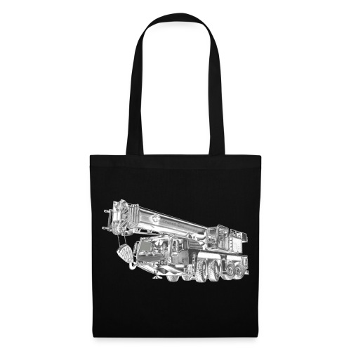 Mobile Crane 4-axle - Tote Bag