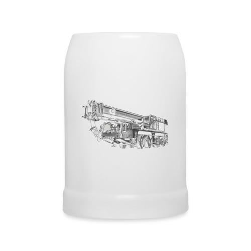 Mobile Crane 4-axle - Beer Mug