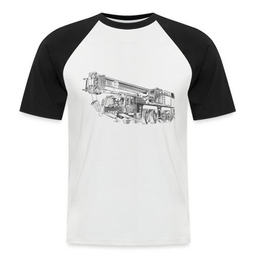 Mobile Crane 4-axle - Men's Baseball T-Shirt