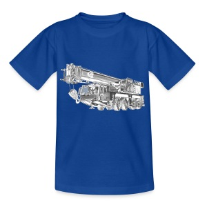 Mobile Crane 4-axle - Kids' T-Shirt