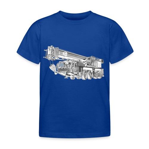 Mobile Crane 4-axle - Kids' T-Shirt